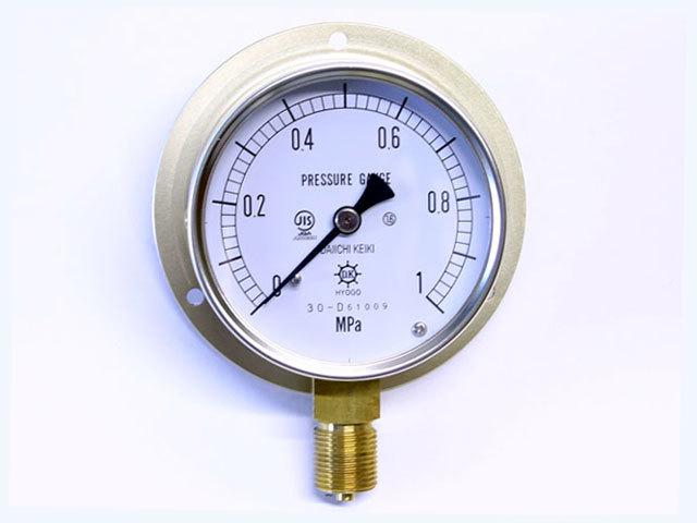 汎用型圧力計 HNT BT 75φ 1Mpa 第一計器製作所