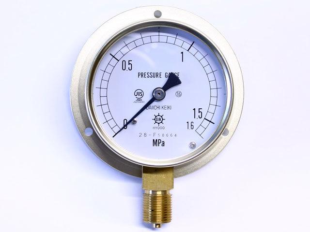 汎用型圧力計 HNT BT 75φ 1.6Mpa 第一計器製作所