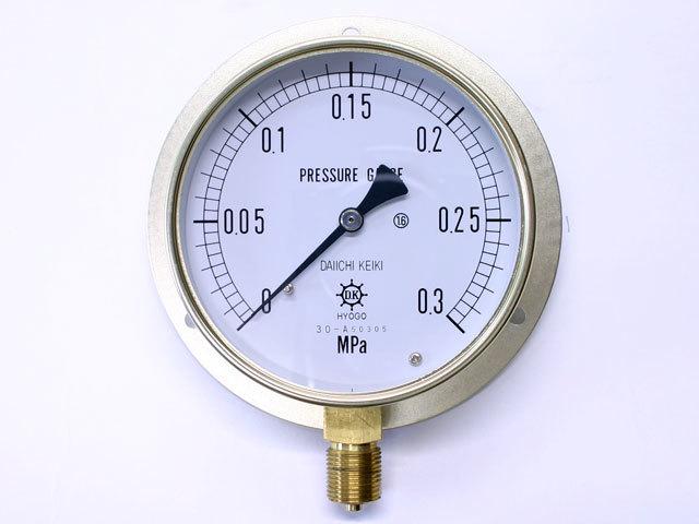 汎用型圧力計 HNT BT 100φ 0.3Mpa 第一計器製作所