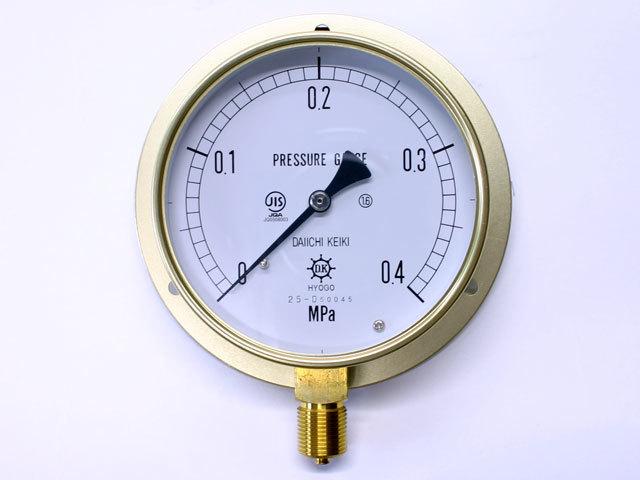 汎用型圧力計 HNT BT 100φ 0.4Mpa 第一計器製作所