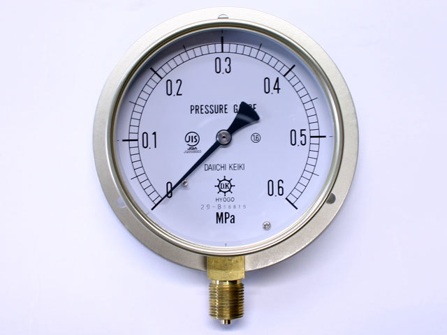汎用型圧力計 HNT BT 100φ 0.6Mpa 第一計器製作所