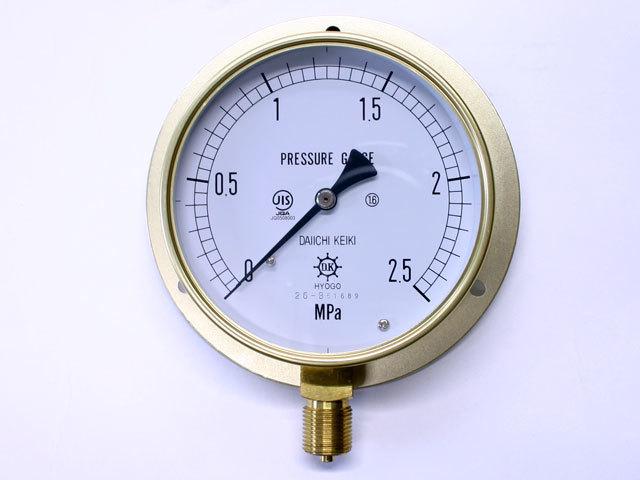 汎用型圧力計 HNT BT 100φ 2.5Mpa 第一計器製作所
