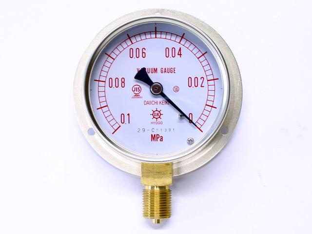 汎用型圧力計 HNT BT 75φ 真空計 第一計器製作所