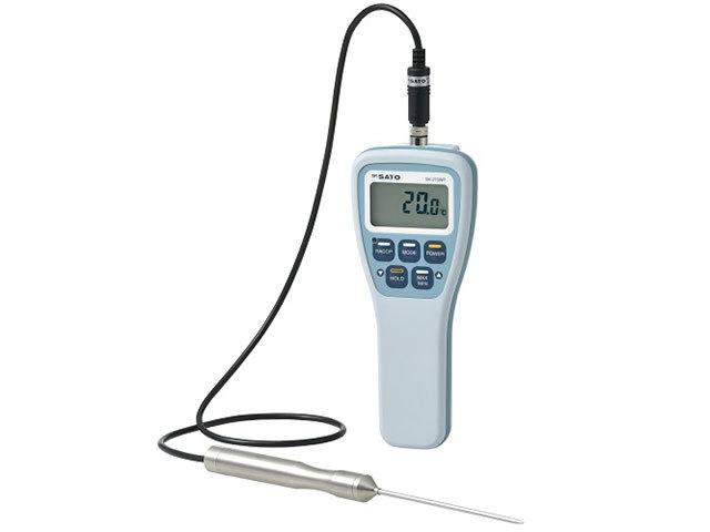 防水型デジタル温度計SK-270WP(フック穴なし)