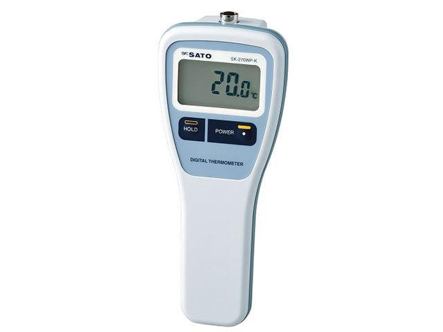防水型デジタル温度計SK-270WP-K指示計のみ