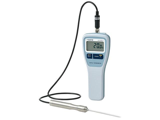 防水型デジタル温度計SK-270WP-K