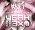 【SALE】【セール商品】【試聴あり】DJ KIRIST / YEAH 3× -ALL GENRE PARTY MEGA MIX- vol,18 [国内盤MIXCD]