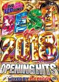 【3枚組】 BEST OF 2018 -OPENING HITS- / DJ DIGGY 【[国内盤MIX DVD】