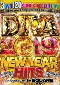 【3組】 DIVA 2019 NEW YEAR HITS / I-SQUARE 【[国内盤MIX DVD】