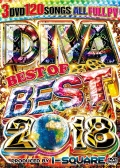 【3組】 DIVA BEST BEST OF BEST 2018 / I-SQUARE  【[国内盤MIX DVD】