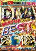 【3組】 DIVA BEST BEST OF BEST 2018 / I-SQUARE  【[国内盤MIX DVD】