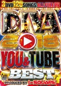 【3組】 DIVA 2018 YOU & TUBE BEST / I-SQUARE  【[国内盤MIX DVD】