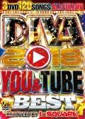 【3組】 DIVA 2018 YOU & TUBE BEST / I-SQUARE  【[国内盤MIX DVD】