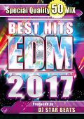 【1枚組】 BEST HITS EDM 2017 / DJ STAR BEATS 【[国内盤MIX DVD】