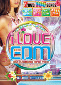 【2枚組】 i LOVE EDM -TROPICAL HOUSE & SEXY EDM / DJ MIX MASTER  【[国内盤MIX DVD】