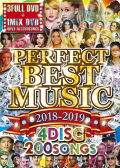 【4組】PERFECT BEST MUSIC 2018-2019 -4DISC 200SONGS- / V.A 【[国内盤MIX DVD】
