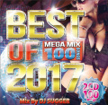 【2枚組】 BEST OF 2017 MEGA MIX 100SONG / DJ SUGGER aka.DJ SUGER  【[輸入盤MIX CD】