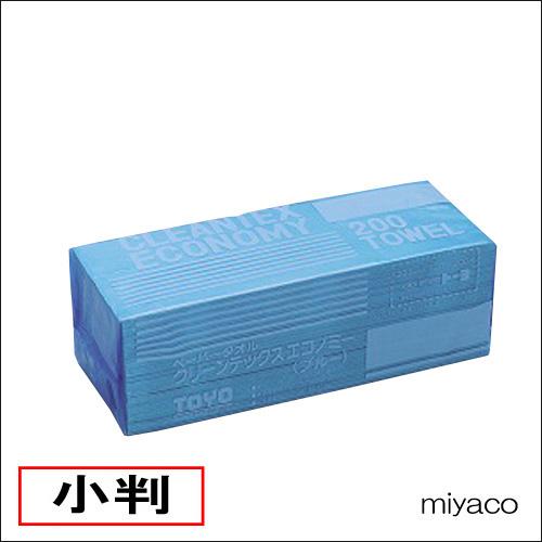 ペーパータオル クリーンテックス(ブルー) 40冊(小判)