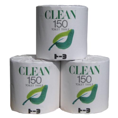 CLEAN 150m巻×45巻(トイレットペーパー)
