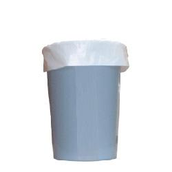 ゴミ袋 ★HDくずかご用0.015×400×450mm【白】100枚