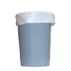 ゴミ袋 HDくずかご用(大)0.015×450×500mm【白】2000枚