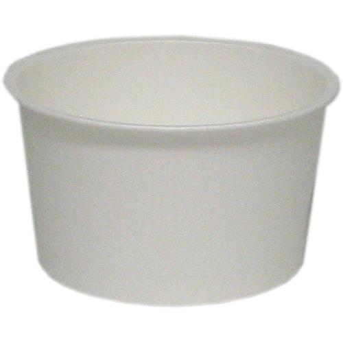 業務用 アイスクリームカップPC-60F白無地 91ml 2000個※大袋入り