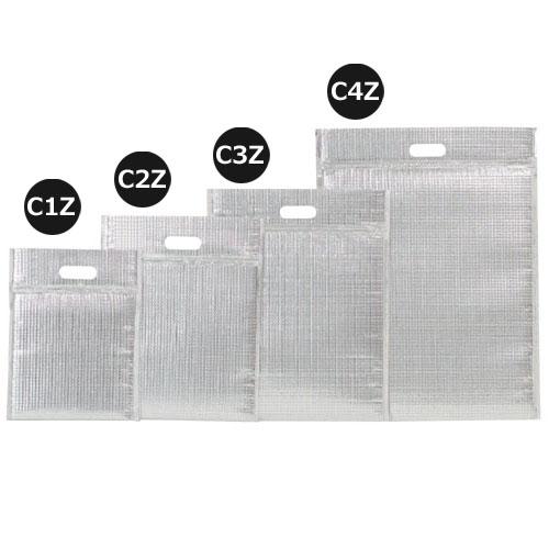 ミナクールパック C3Z 保冷袋ジップ付 L(平袋)100枚