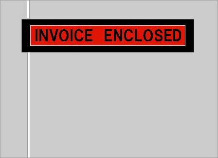 デリバリーパック(L-101A)INVOICE2000枚 (115x155mm)