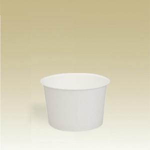 業務用 アイスクリームカップPC-80F白無地 104ml 1500個※大袋入り