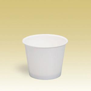業務用 アイスクリームカップPC-90F白無地 124ml 2000個※大袋入り