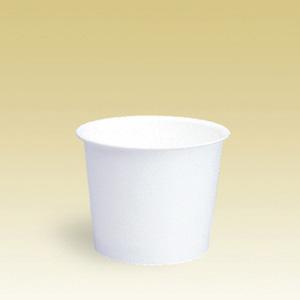 業務用 アイスクリームカップPC-100F白無地 132ml 2000個※大袋入り