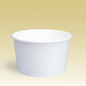 業務用 アイスクリームカップPI-240N(ホワイト) 293ml 1200個※大袋入り