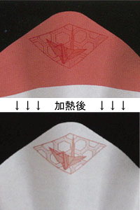 絵鍋(レッド)鶴 1500枚