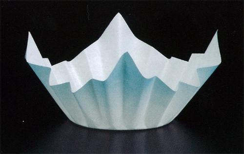 ★ミニ色和紙鍋 水色250枚