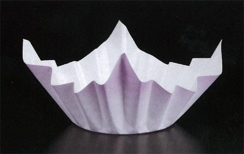 ★ミニ色和紙鍋 紫色250枚