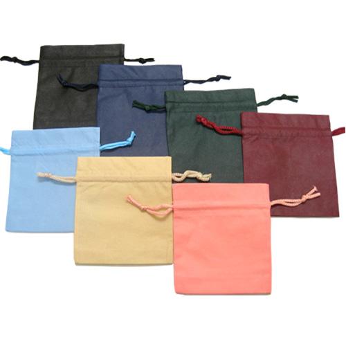 巾着袋 Fバッグ K24-28(ピンク) 300枚