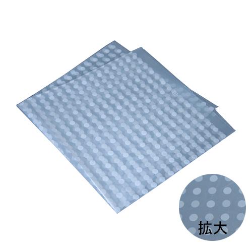 ポリ風呂敷(No.70 水玉透明) 500枚