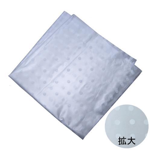 HDポリ風呂敷 水玉白(中) 1000枚