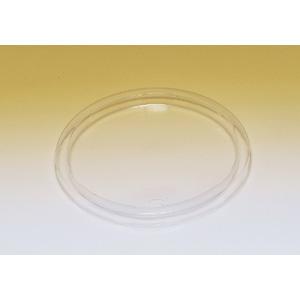 業務用 紙容器用LID(PP透明針穴) 1200枚(スープカップ)