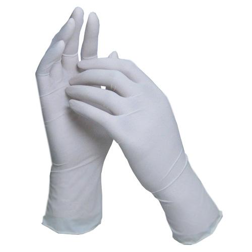 ★SLラテックス手袋(粉付) ホワイト 100枚