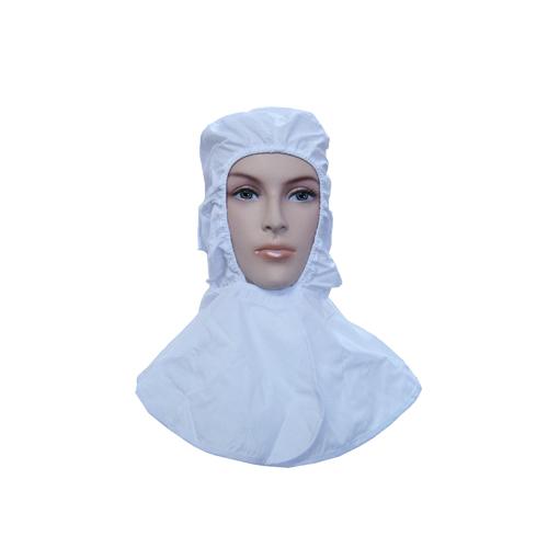 SL作業用頭巾 つば無(ホワイト) 1枚