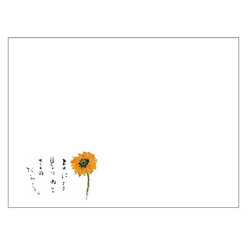 ★ランチョンマットV964(ひまわり)100枚