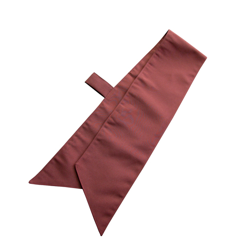 ループ付スカーフ(チョコレート) 1枚