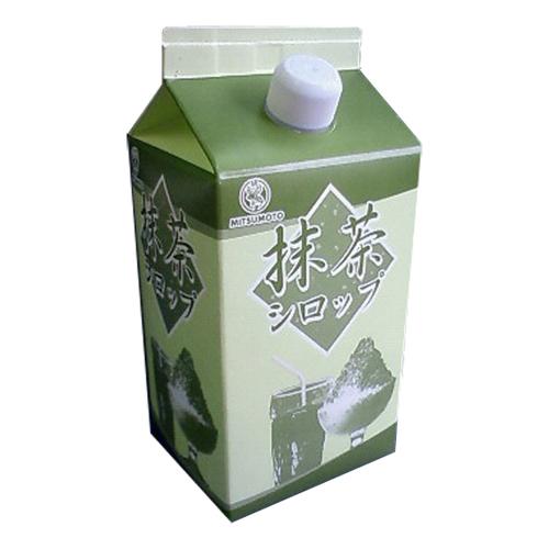 かき氷シロップ(抹茶)900ml 1本(カキ氷)