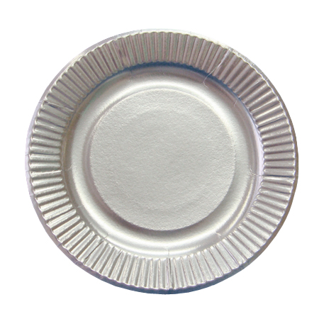 紙皿シルバープレート7号  2400枚
