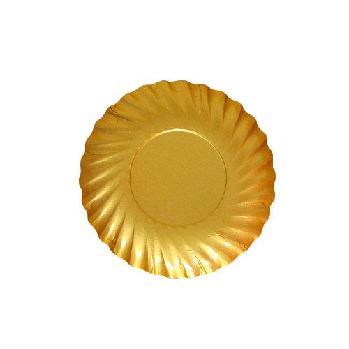 紙皿ゴールドプレートM80 2000枚