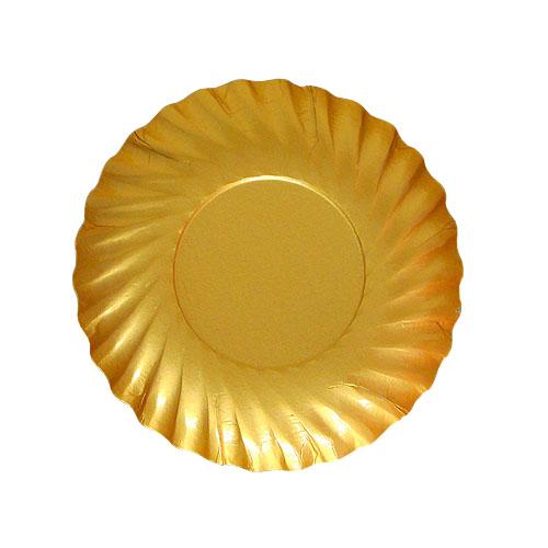 紙皿ゴールドプレートM90 2000枚