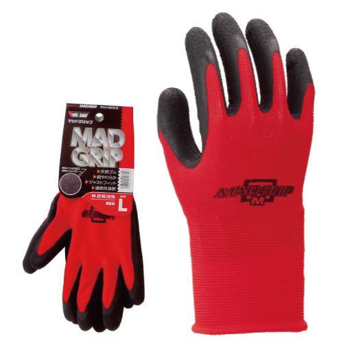 作業用手袋 2535 マッドグリップ 1P 120双