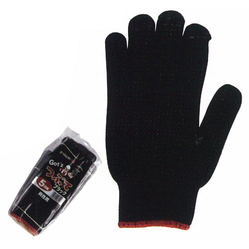 作業用手袋 2217 つぶてソフト 5P  80束