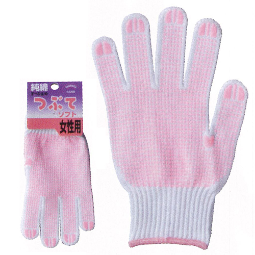 作業用手袋 2208 つぶてソフト 女性用  240双
